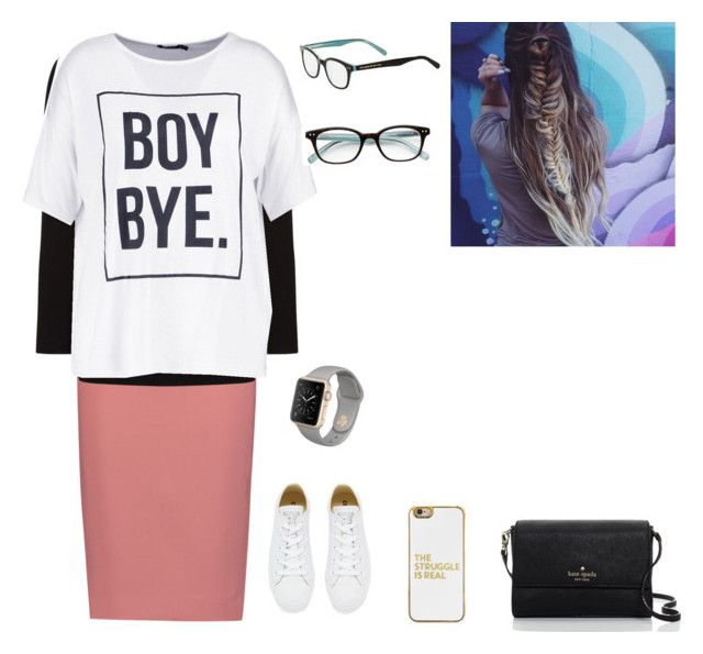 """""""Target outfit ❤️"""" by tailorgrace1 on Polyvore featuring Elizabeth and James, Alexander Wang, Boohoo, Converse, BaubleBar and Kate Spade"""