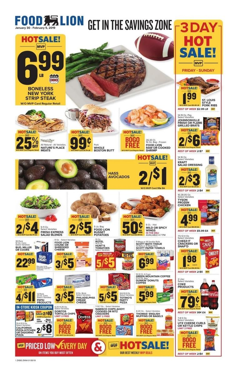 Food lion weekly ad deals march 25 31 2020 food