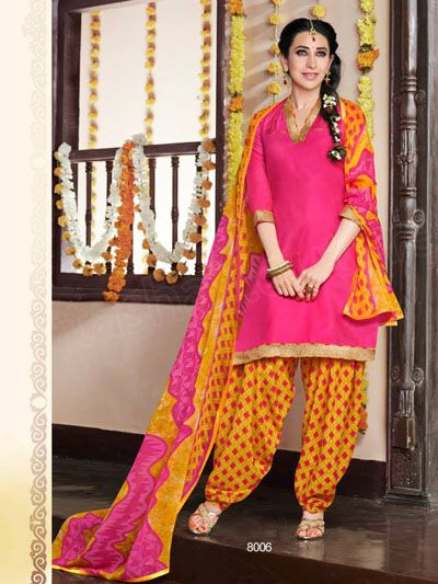 Karishma Kapoor's Latest Patiala Suits Collection http://clothingpk.blogspot.com/2015/06/karishma-patiala-suits-collection-2015.html