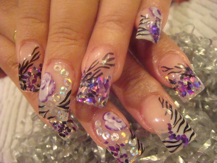 Mejores 226 imágenes de Nails en Pinterest | Uña decoradas, Uñas ...