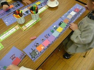 The Very Busy Kindergarten: The Polar Express lesson plan