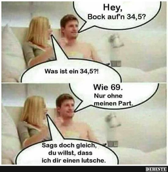 Hey, Bock auf'n 34,5? | Lustige Bilder, Sprüche, Witze, echt lustig