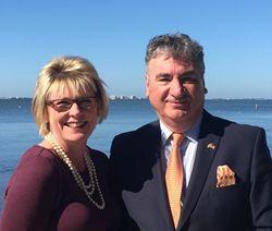 Dale Sorensen Real Estate's London Office Visits Florida