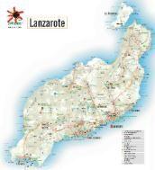 Lanzarote Map