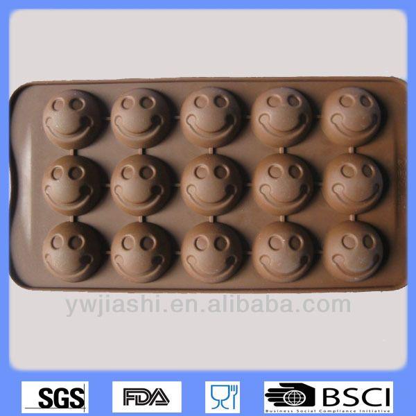 Chocolate mold,Smile face silicone chocolate mold,custom chocolate mold…