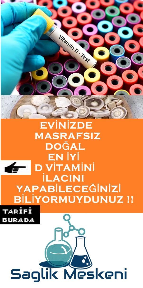 D Vitamini Dogal Ilac Yapimi Tarifi 2020 Dogal Saglik Dogal Tedaviler