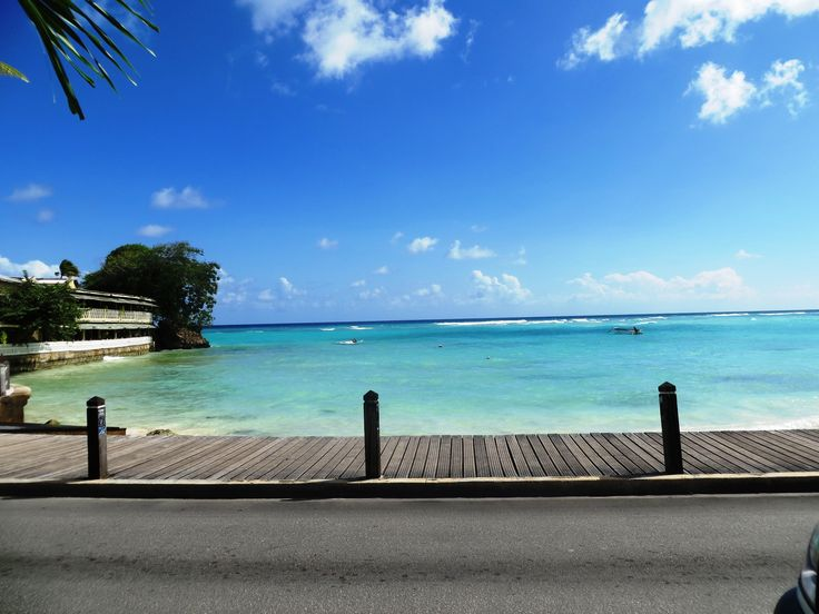 Look out to the Caribbean Sea from St. Lawrence Gap, Christ Church ,#Barbados http://on.fb.me/1c0YjHi