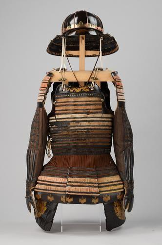 Japanese, Nara:  Samurai armor (IROITO-Odoshi Gusoku): samurai armor  End of 16th / Top of 17 century.