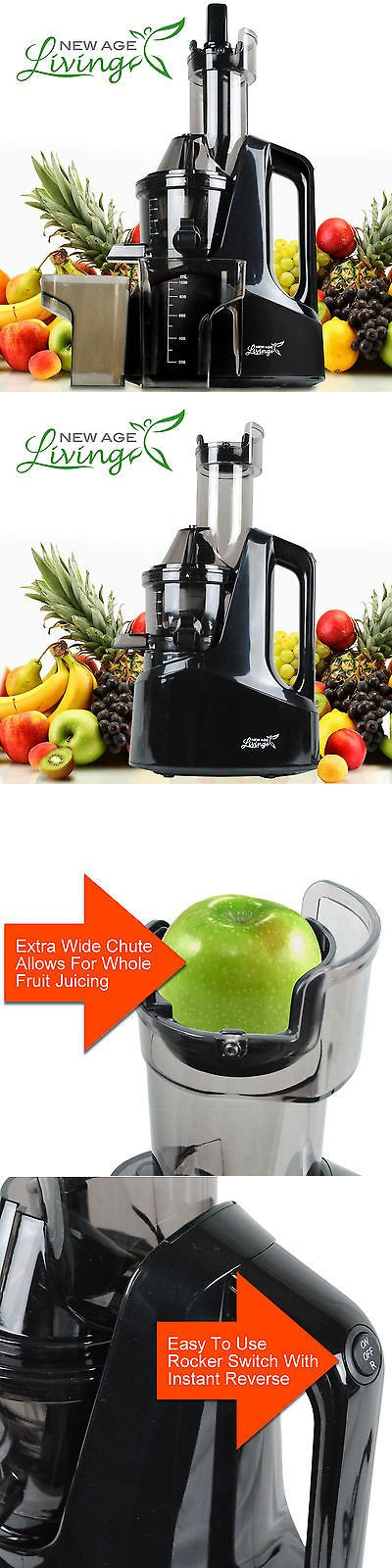 appliances: New Commercial Slow Juicer Masticating Cold Press Machine Fruit Vegetable S -> BUY IT NOW ONLY: $169.95 on eBay!