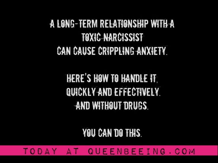 can an abusive relationship cause anxiety