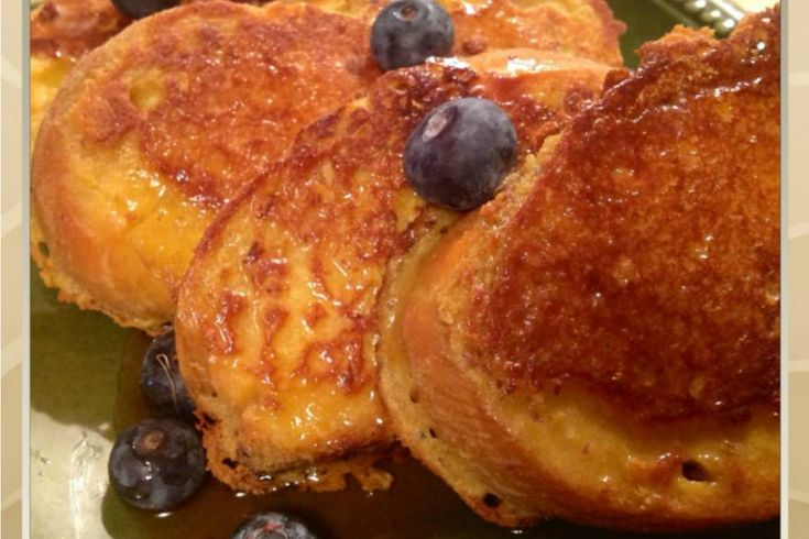 <p>This Challah French Toast is crispy but tender and perfect topped with maple syrup and fresh fruit for breakfast or brunch.</p>
