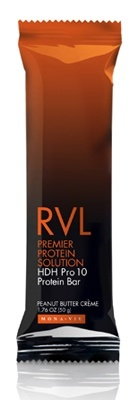 MONAVIE RVL Designed for maximum protein absorption and featuring the antioxidant power of acai and high-DH hydrolyzed whey protein-one of the most advanced, fastest absorbing proteins available-the MonaVie RVL HDH Pro 10 Protein Bar encourages fat burning, weight maintenance, body repair, and the building of lean muscle mass while fueling your body and curbing your appetite.