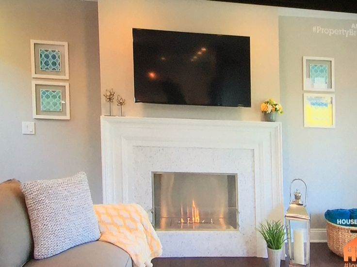 Ethanol fireplace as seen on HGTV Property Brothers