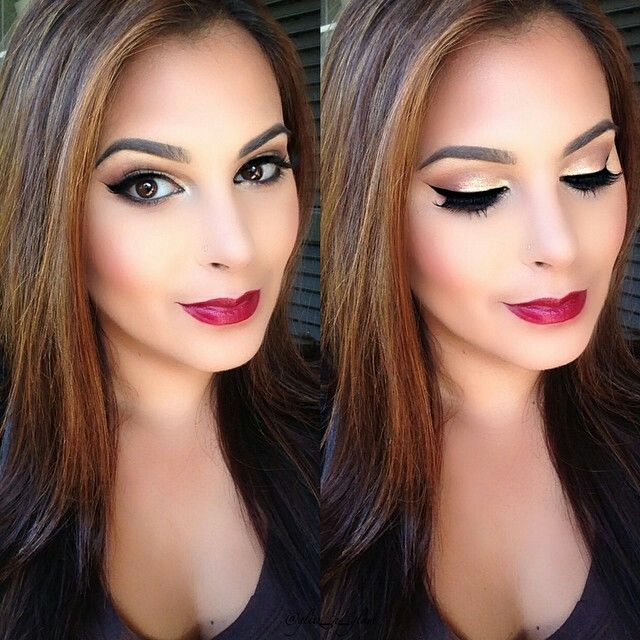 ♥ would love for my makeup to look like this....