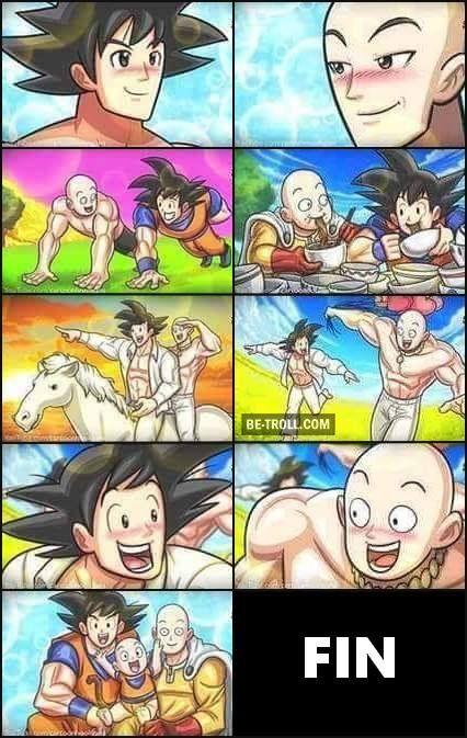 Donc au final Goku et Saitama... ?