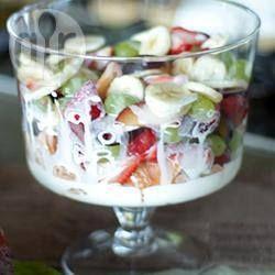 Ensalada de frutas variadas @ allrecipes.com.mx