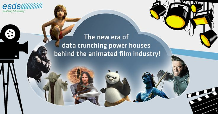 The New Era of Data Crunching Power Houses, Behind The Animated Film Industry !  As the time advances and content-driven #technology changes, #animated #film #studios will depend more and more heavily on faster processors and #cloudcomputing.