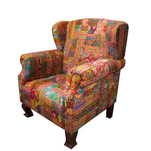 22 Best Images About Kantha Upholstery On Pinterest Indian Fabric Vintage And Chairs