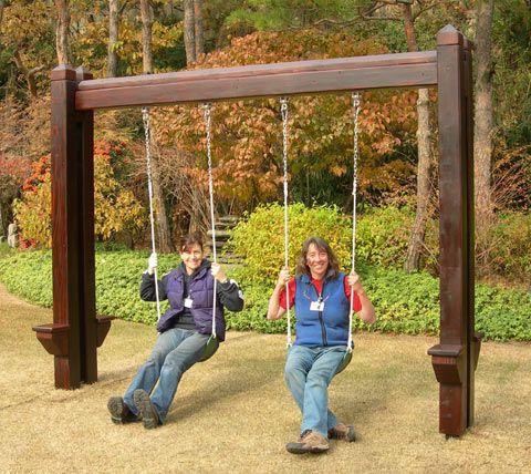 25 Best Ideas About Swing Set Plans On Pinterest Wooden