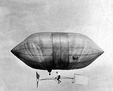 Man Powered Airship Dirigibles And Balloons Pinterest
