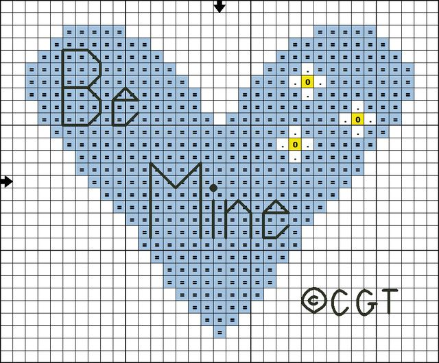 1000 images about free valentine cross stitch patterns on for Cross stitch patterns free printable