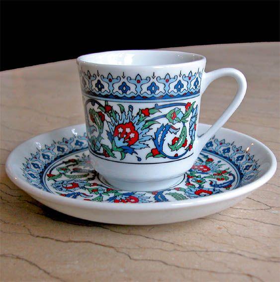 osmanlı motifli fincanlar