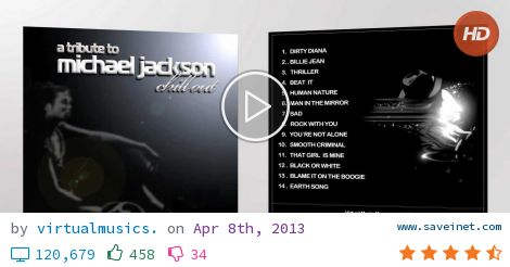 Michael Jackson Chill Out A tribute Full Album
