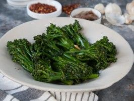 Broccolini with Anchovies and Garlic from CookingChannelTV.com