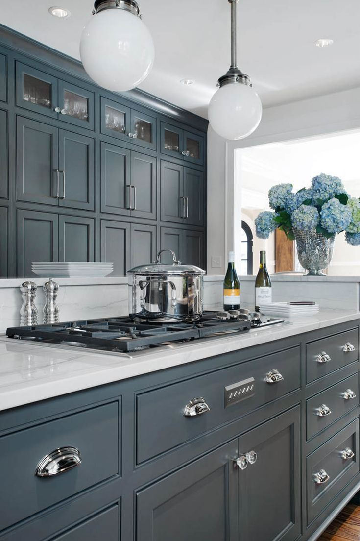 Kitchen Cabinets Painted Grey Pin By Olga Alegria On Diy Kitchen Farmhouse Kitchen Cabinets