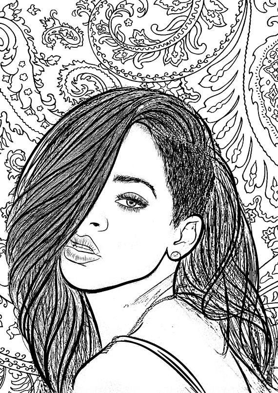 coloring pages and more com | 30 SWAG arteroticerotic arterotic printnude artfemale ...