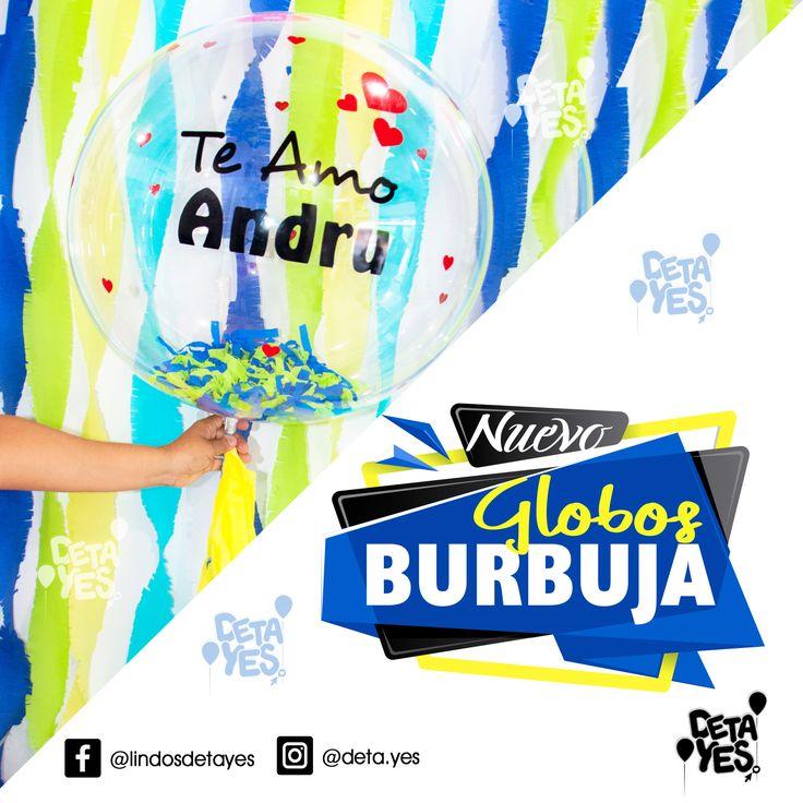 Llegaron a Detayes los Globos Burbuja lo más cristal, transparente bello en Globos para tus decoraciones y fiestas  con mensajes e ideas Personalizadas pedidos Cel: 3185657519 Envios a Toda Colombia