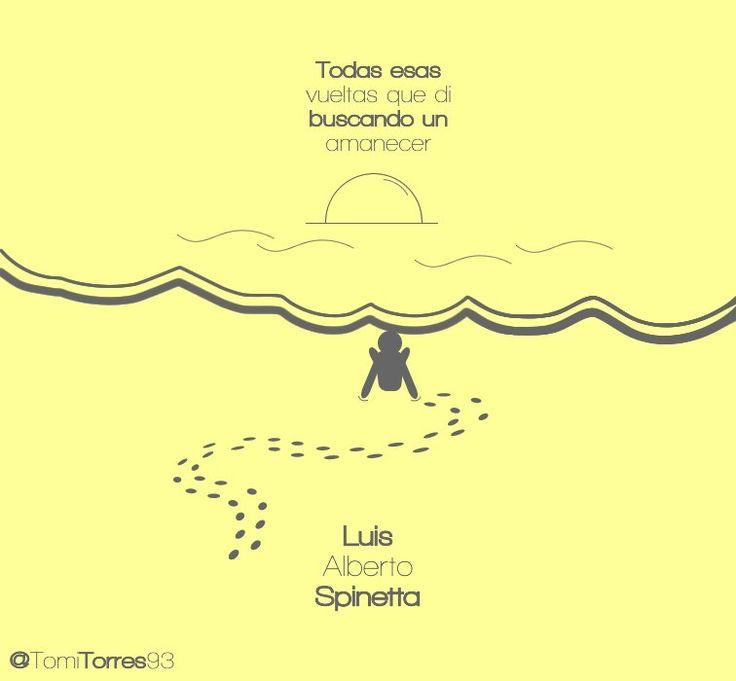 Frases de Spinetta en imágenes Minimalistas [Parte 2]