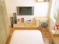 Kệ tivi đơn giản cho phòng ngủ hiện đại