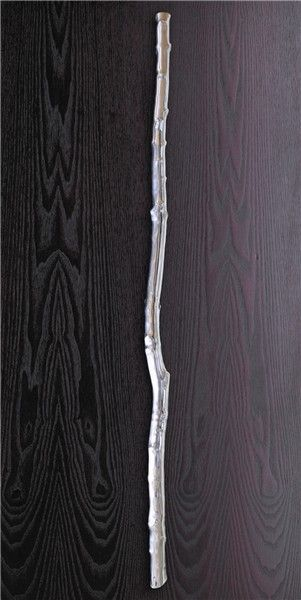 Treetrunk - Large cast aluminium handle - Philip Watts Design - Nottingham