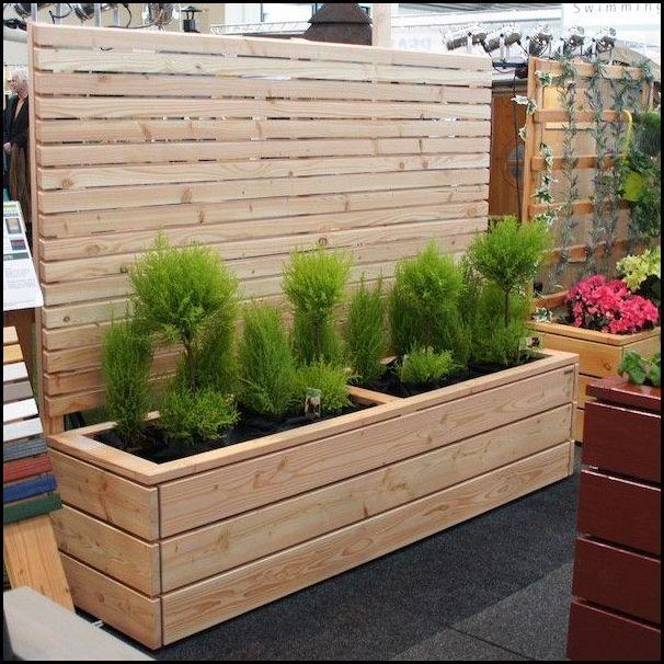 Pflanzkubel Holz Selber Bauen Pallets Garden Planters Garden