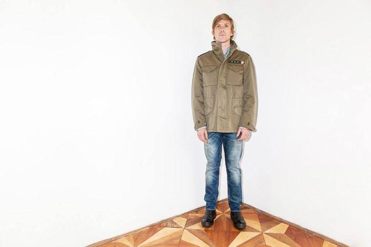 #Lookbook Autunno/Inverno 2013 giacca P13 uomo @spazo11b