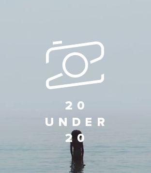 Flickr 20 under 20 logo. Excellent typographic design. »#camera #icon