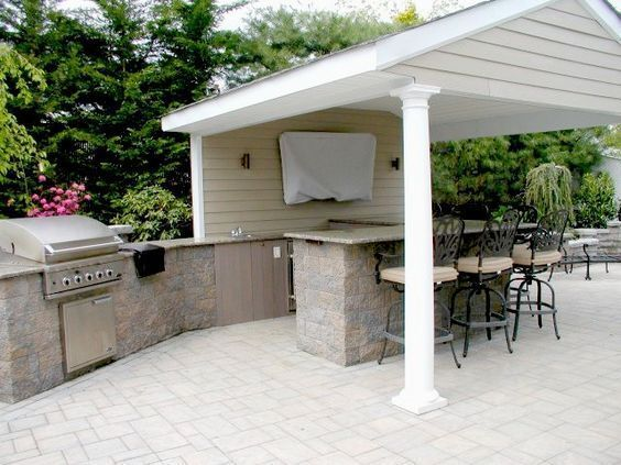 Why Have A Boring Grill When You Can Have A Grand Outdoor Kitchen Space!  Cambridge Outdoor Kitchen Kits Can Be Customized With Anything From A Sink  To A ...