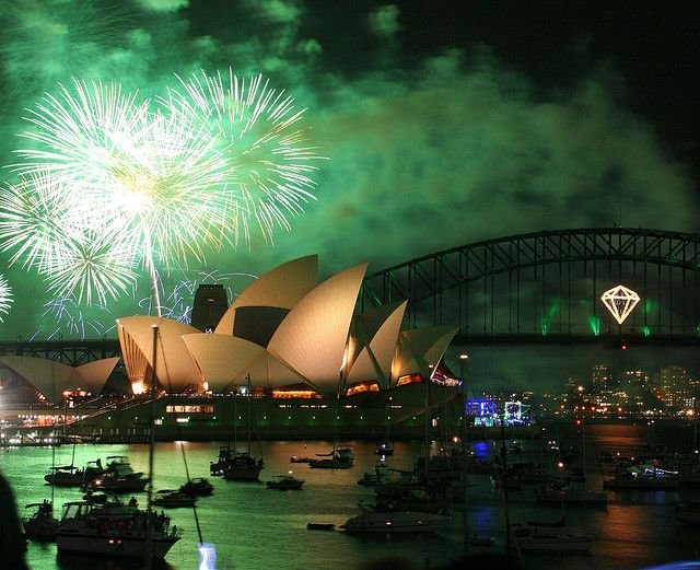 Twenty best places to celebrate New Years Eve around the globe. :)