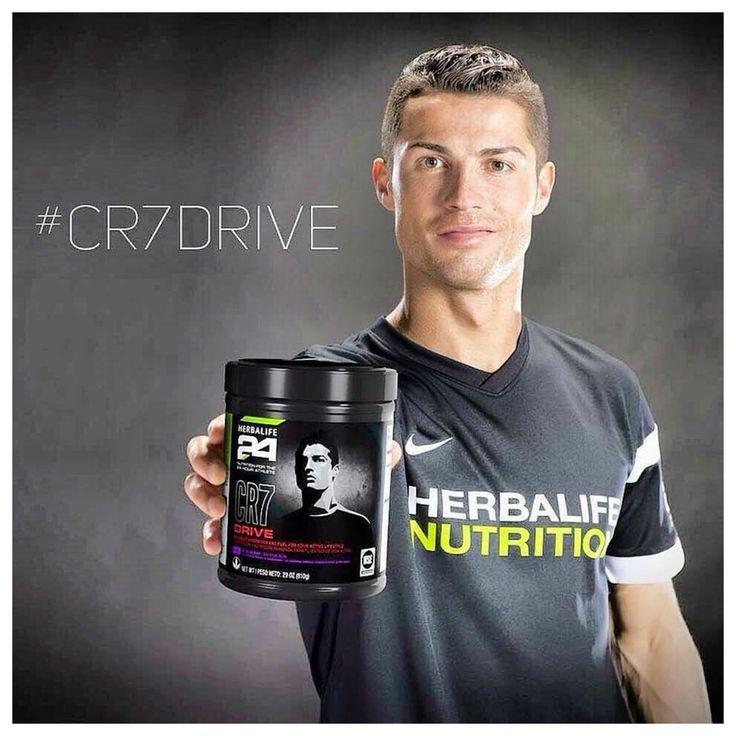 Cristiano Ronaldos Herbalife product >>>CR7 Drive