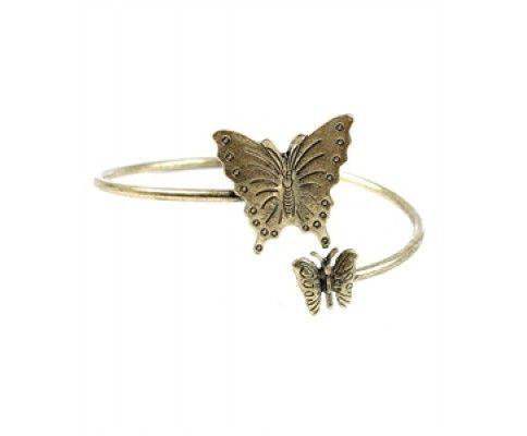 Vintage náramok otvorený motýľ #vintage #vintagejewelry #womanology