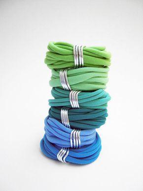 Pulseras pulseras textiles hilos pulsera de la por birdienumnumshop