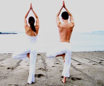 YOGA, WATER, SUN, LIGHT: Partners Yoga, Happy Wife, Healthy Choice, Fit Exercise, Fit Challenges, Yoga Poses, Couple Yoga, Weights Loss, Yoga Workout