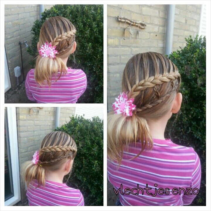 Fun hairstyle #cutegirlshairstyles #hairstylesforgirls #braidsforgirls #braids
