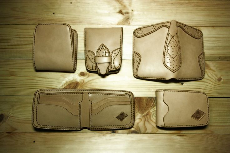 2013 collection PCKY the Brand Leather Goods Crafted with Vegetable tanned leather and hand stitched with natural color sinew