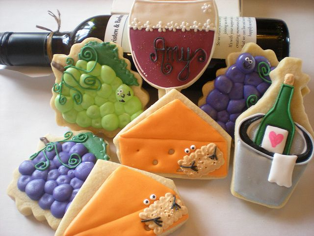 cheese and wine cookies