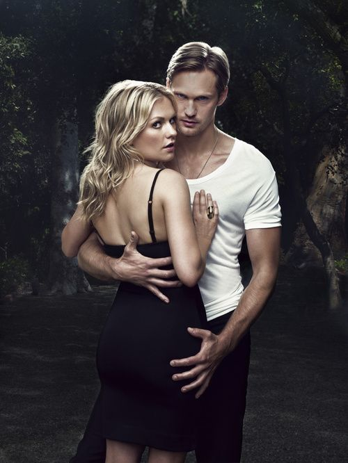 Sookie & Eric..True Blood. Oh my, look at the size of those hands!!
