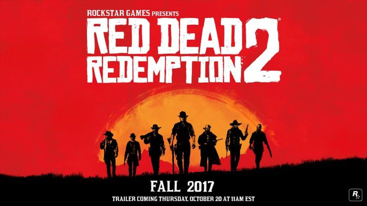 Red Dead Redemption 2 confirmed for Fall 2017 Rockstar games confirmed a sequel to Red Dead Redemption is on the way for release in Fall 2017 tweeting the date along with the promise of a trailer arriving this Thursday October 20. The follow-up to Rockstars epic Western action-adventure game series has been teased through Rockstars account leaving many to suspect a sequel was planned but now we know for sure.  The image accompanying todays news features a closer look at the seven cowboys…