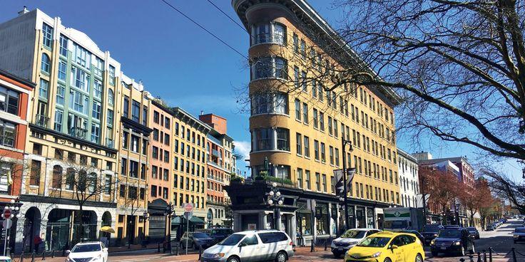 Vancouver: le quartier Gastown, l'ancien nouveau monde