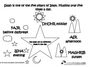 Free Printable Islamic Studies Resources! | The Muslim Sticker Company